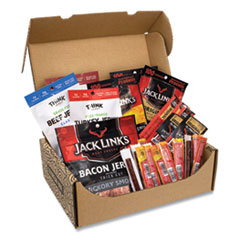 Snack Box Pros Big Beef Jerky Box, 29 Assorted Snacks, Free Delivery in 1-4 Business Days