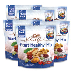 Nature's Garden Healthy Heart Mix, 1.2 oz Pouch, 7 Pouches/Pack, 6 Packs/Box, Free Delivery in 1-4 Business Days