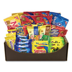 Snack Box Pros Snack Treats Variety Care Package, 40 Assorted Snacks, Free Delivery in 1-4 Business Days