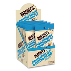 Hershey®'s Cookies 'n' Creme Crunchers Snacks, 1.8 oz Bag, 8 Bags/Pack, Free Delivery in 1-4 Business Days