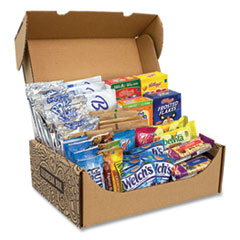 Snack Box Pros Breakfast Snack Box, 41 Assorted Snacks, Free Delivery in 1-4 Business Days