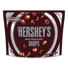 Hershey®'s Drops Candy, Milk Chocolate,, 7.6 oz Bag, 3 Bags/Pack, Delivered in 1-4 Business Days