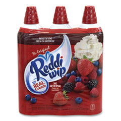 Reddi Wip® Original Whipped Topping Cans, 15 oz Can, 3 Cans/Pack, Free Delivery in 1-4 Business Days