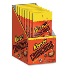 Reese's® Crunchers Snacks, 1.8 oz Pouch, 8 Pouches/Box, Free Delivery in 1-4 Business Days