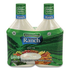 Hidden Valley® Original Ranch Dressing, 40 oz Bottle, 2 Bottles/Pack, Free Delivery in 1-4 Business Days