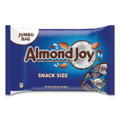 Almond Joy® Snack Size Candy Bars, 20.1 oz Bag, Free Delivery in 1-4 Business Days