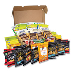 Snack Box Pros Big Healthy Snack Box, 61 Assorted Snacks, Free Delivery in 1-4 Business Days