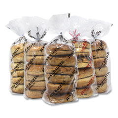 Just Bagels Assorted Bagels, Assorted Flavors, 6 Bagels/Pack, 5 Packs/Carton, Free Delivery in 1-4 Business Days