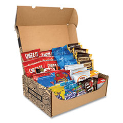 Snack Box Pros Party Snack Box, 45 Assorted Snacks, Free Delivery in 1-4 Business Days
