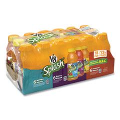 V-8® V-8 Splash Variety, Berry Blend; Mango Peach; Tropical Blend  12 oz Bottle, 18/Pack, Free Delivery in 1-4 Business Days
