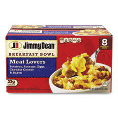 Jimmy Dean® Breakfast Bowl Meat Lovers, 56 oz Box, 8 Bowls/Box, Delivered in 1-4 Business Days
