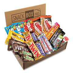 Snack Box Pros MARS Favorites Snack Box, 25 Assorted Snacks, Free Delivery in 1-4 Business Days