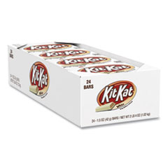 Kit Kat® Wafer Bar with White Creme, 1.5 oz Bar, 24 Bars/Box, Free Delivery in 1-4 Business Days