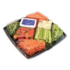 National Brand Gourmet Vegetable Tray with Ranch Dressing, 4 lbs, Free Delivery in 1-4 Business Days