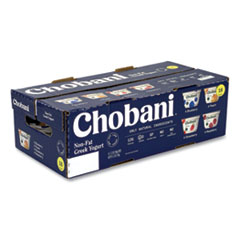 Chobani® Greek Yogurt Variety Pack, Assorted Flavors, 5.3 oz Cup, 16 Cups/Box, Free Delivery in 1-4 Business Days