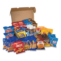 Snack Box Pros Big Party Snack Box, 75 Assorted Snacks, Free Delivery in 1-4 Business Days