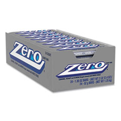ZERO® Candy Bar, 1.85 oz Bar, 24 Bars/Box, Free Delivery in 1-4 Business Days