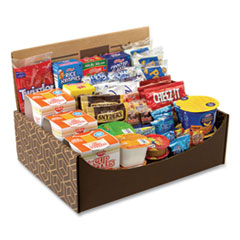 Snack Box Pros Dorm Room Survival Snack Box, 55 Assorted Snacks, Free Delivery in 1-4 Business Days