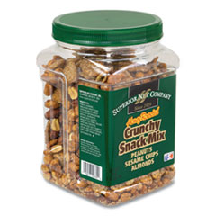 Superior Nut Company Honey Roasted Crunch Snack Mix, 28 oz Tub, Free Delivery in 1-4 Business Days