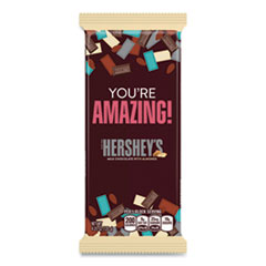 Hershey®'s Milk Chocolate with Almonds Appreciation XL Bars, 4.25 oz, 12 Bars/Box, Free Delivery in 1-4 Business Days