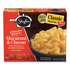 Stouffer's® Classics Macaroni and Cheese Meal, 12 oz Box, 6 Boxes/Pack, Delivered in 1-4 Business Days