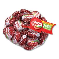 Mini Babybel® Cheese Wheels, Original, 21 oz Bag, 26 Wheels/Bag, Delivered in 1-4 Business Days