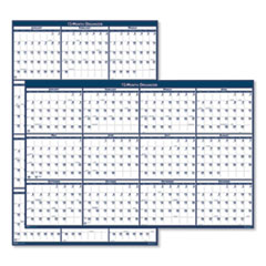 House of Doolittle™ 100% Recycled Poster Style Reversible/Erasable Yearly Wall Calendar