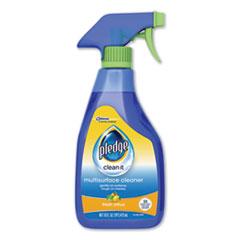 Pledge® Multi-Surface Cleaner, Clean Citrus Scent, 16 oz Trigger Spray Bottle, 6/Carton