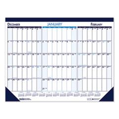 House of Doolittle™ Three Month Desk Pad Calendar, 22 x 17, 2020-2022