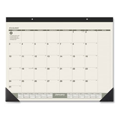 AT-A-GLANCE® Recycled Monthly Desk Pad, 22 x 17, 2022