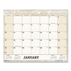 House of Doolittle™ 100% Recycled Monthly Horizontal Wall Calendar