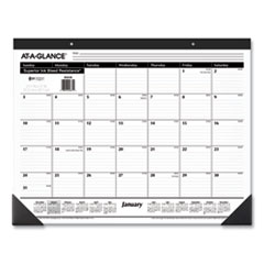AT-A-GLANCE® Ruled Desk Pad