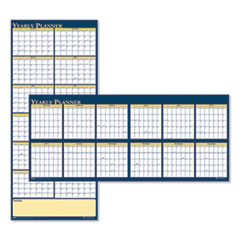 House of Doolittle™ Recycled Reversible Yearly Wall Planner, 60 x 26, 2021