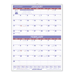 AT-A-GLANCE® Two-Month Wall Calendar, 22 x 29, 2022