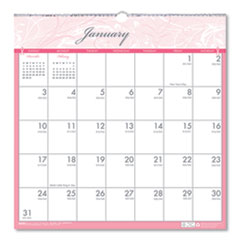 House of Doolittle™ Recycled Breast Cancer Awareness Monthly Wall Calendar, 12 x 12, 2021