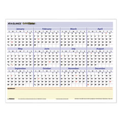AT-A-GLANCE® QuickNotes Mini Erasable Wall Planner, 16 x 12, 2022