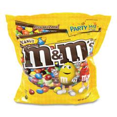 M & M's® SUP Party Bag Peanut, 38 oz Bag, 2 Bags/Pack