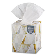 Kleenex® Boutique White Facial Tissue, 2-Ply, Pop-Up Box, 95 Sheets/Box, 3 Boxes/Pack