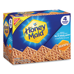 Nabisco® Honey Maid Honey Grahams, 14.4 oz Box, 4 Boxes/Pack, Free Delivery in 1-4 Business Days