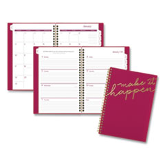 Cambridge® Make it Happen Weekly/Monthly Planner