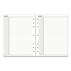 AT-A-GLANCE® Lined Notes Pages, 11 x 8.5, White, 30/Pack