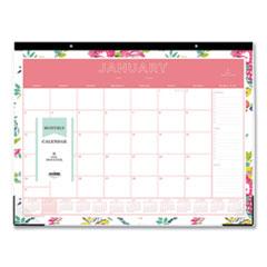 Blue Sky® Day Designer Desk Pad Calendar, 22 x 17, 2022