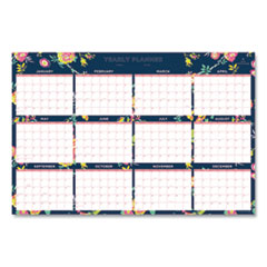 Blue Sky® Day Designer Laminated Wall Calendar, 36 x 24, 2022