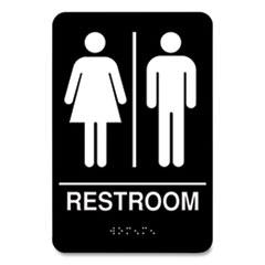 COSCO Indoor Restroom Door Sign