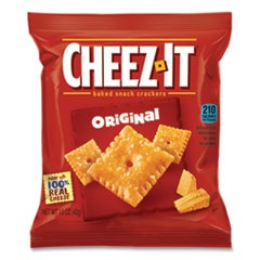 Cheez-It® Baked Snack Crackers, 1.5 oz Bag, 60/Carton