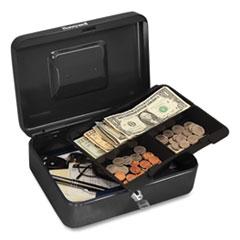 Honeywell Cash Management Box, 7.9 x 6.5 x 3.5, Black