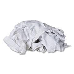 Monarch Brands® Cotton Wipers, White, 50/Carton