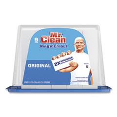 Mr. Clean® Magic Eraser with Durafoam, 2.3 x 4.6 x 1.0, White, 9/Pack