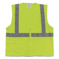 PIP Two-Pocket Zipper Safety Vest