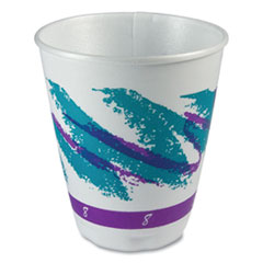 Dart® Jazz Trophy Plus Dual Temperature Insulated Cups, 8 oz, 100/Pack